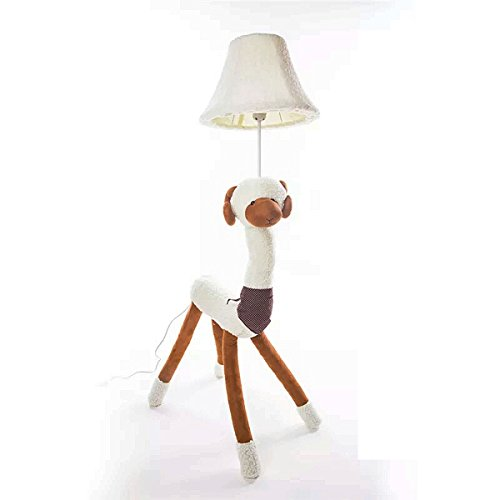 Coolfire Kids Floor Lamp, Handmade Decorative Table Lamp Bedside Desk Lamp Night Light for Bedroom Living Room Playroom (Floor Lamp, sheep) by Coolfire