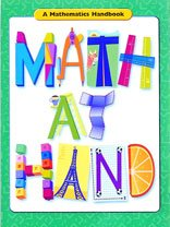 Math at Hand: A Mathematics Handbook Grade 5- 6: Great Source Math Handbook; 2003 Edition