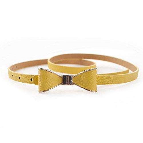 yellow belt buckle - 9
