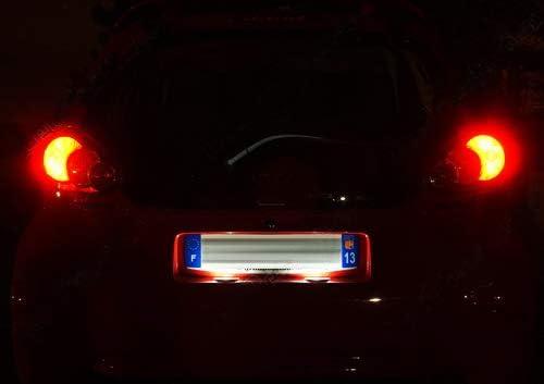 2x LED Licence Number Plate Light White Canbus For 2005-2014 Aygo MK I