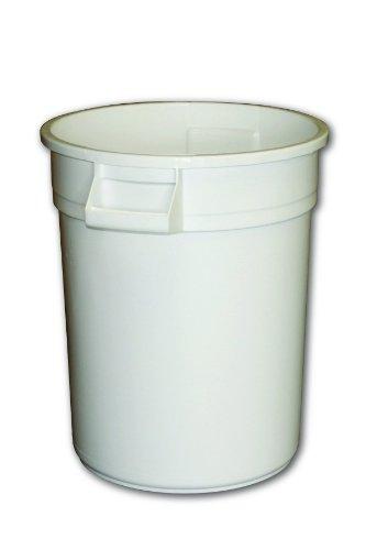 Impact 7720-1 Gator Polyethylene Container, 20 Gallon Capacity, 19-1/4