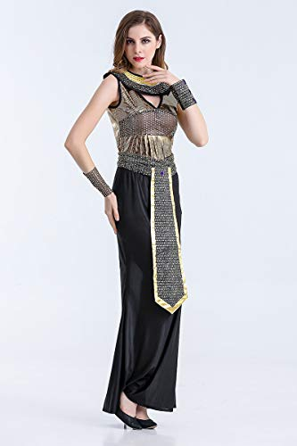 MY Halloween Greek Goddess Cosplay Fashion Handsome Stage Performance Costume for Women (Size : XXL)]()
