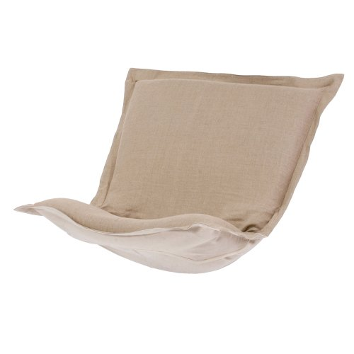 Butterfly Collection Rocking Chair - Howard Elliott C300-610 Puff Chair Cover, Prairie Linen Natural