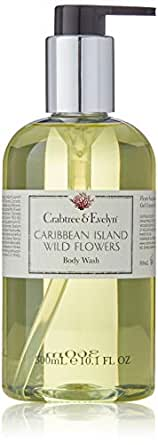 Crabtree & Evelyn Caribbean Island Wild Flowers Body Wash by Crabtree & Evelyn for Women - 10.1 oz Body Wash, 303 milliliters