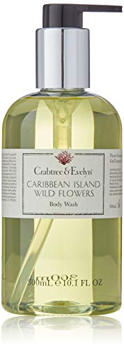 Crabtree Evelyn Body Wash, Caribbean Island Wild Flowers, 10.1 Fl Oz