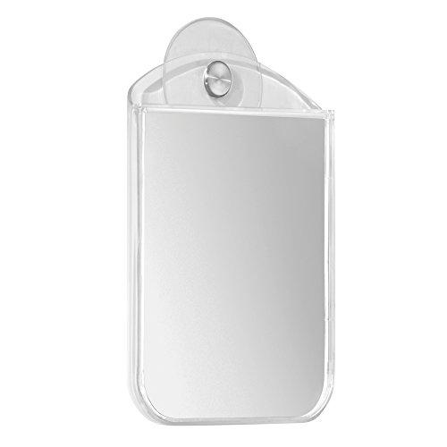 InterDesign Bathroom Shower Suction Mirror