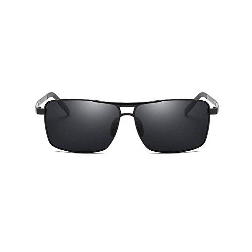 gafas UV400 de protección aire en de polarizadas sol marco 1 Eyewear al la de conducción Square de Men de aleación forma libre Gafas Coolsir 1wWPq70I8P