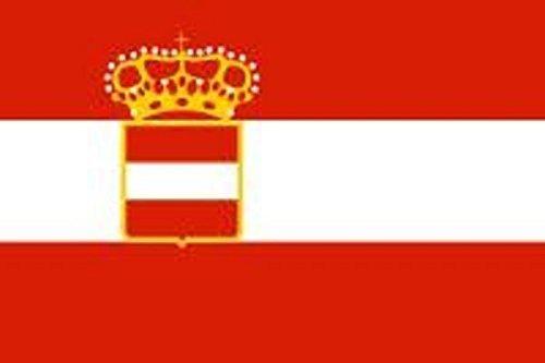U24Bandiera Bandiera AUSTRIA UNGHERIA Marine Boot Bandiera qualità premium 60x 90cm