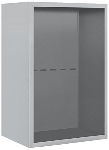 picture of Salsbury Industries 3807S-ALM Surface Mounted Enclosure for 3707 Single Column, Aluminum