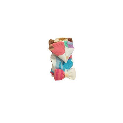 Khemn Designer Rat Fashion Hoodie-Best for Rat Rat/Hamster/Squirrel/Guinea Pig (Candy, S) ()