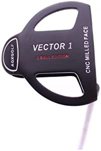 Amazon.com: agxgolf hombre Vector Series 2-Ball Putter: W ...
