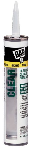 Dap 18384 Flexi-Clear Elastomeric Sealant 10.1-Ounce