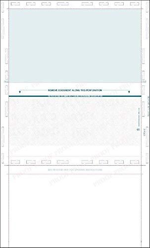 (Z-Fold Pressure Seal Blank Check Stock 14