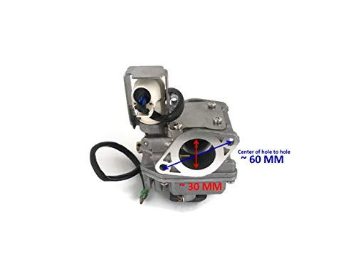 (Boat Motor 6AH-14301-30 6AH-14301-31 6AH-14301-21 20 Carburetor Carb Assy Intake for Yamaha Outboard F 15HP - 25HP 4-stroke Outboard)