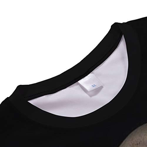 Courtes Chemise C Manches sanfashion Mort Tête Noir Basique De Shirt Vêtements Mode Eté Fashion 3d Homme Tops shirt Imprime T wWqFOY