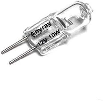 G4 12v 10w Clear Halogen Light Bulb 10 Pack Amazon Com
