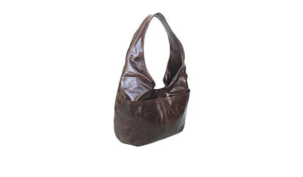 023f94271679 Amazon.com  Fgalaze Distressed Leather Hobo Bag Purse with Pockets ...