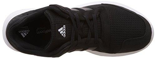 adidas Element Refresh M, Zapatillas de Running para Hombre Negro (Negbas / Negbas / Ftwbla)