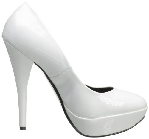 Usa Pleaser 01 Harlow Blanc Shoes qZ8wa