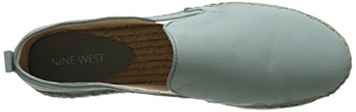 West Noney Green cuir Slip ons Multi Nine Fdnf5wqxF