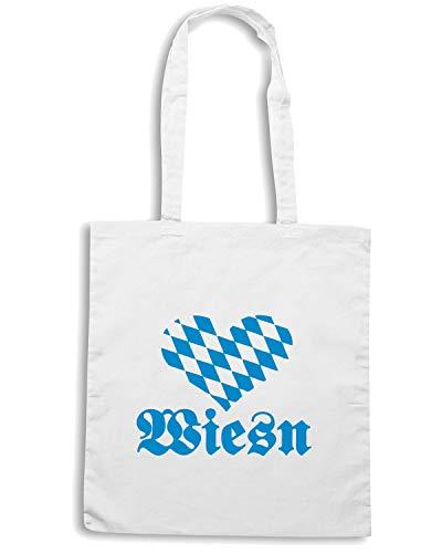 OKTOBERFEST Bianca Shopper Speed TSTEM0073 Borsa WIESN Shirt 6qwXP