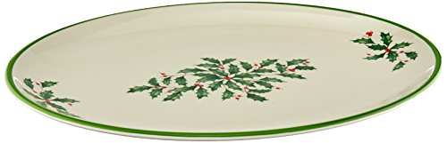- Lenox Holiday Melamine Oval Platter
