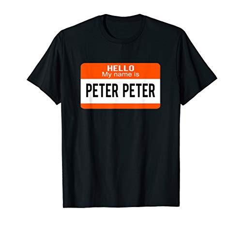 Peter Peter Pumpkin Eater Halloween Couples Costume T-shirt