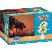 Kauai Coffee Island Sunrise Mild Roast, Single Serve Cups, 72 Count