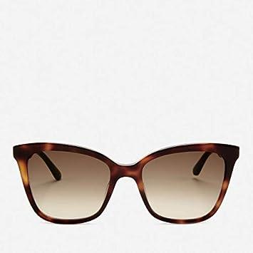 Karl Lagerfeld Womens Butterfly Frame Sunglasses - Havana ...