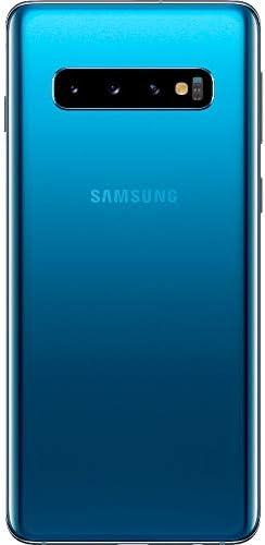 "Samsung Galaxy S10 128GB+8GB RAM SM-G973F/DS Dual Sim 6.1"" LTE Factory Unlocked Smartphone (International Model No Warranty) (Prism Green)"