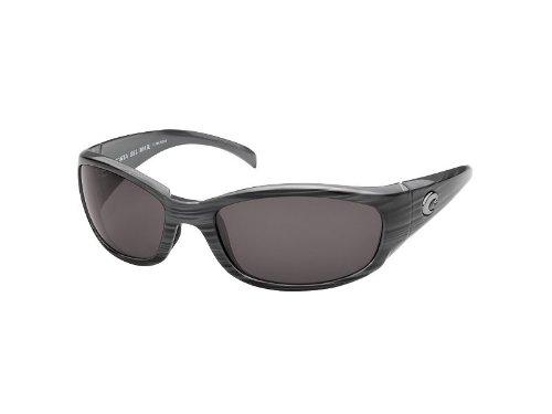 Costa Del Mar Hammerhead Sunglasses , Silver Teak/Gray 580Plastic