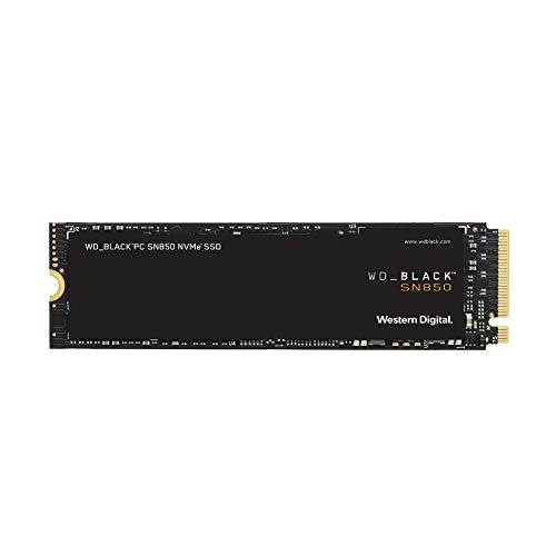 WD_BLACK SN850 2 TB NVMe interne gaming SSD; PCIe Gen4-technologie, tot 7000MB/s leessnelheid, M.2 2280, 3D NAND