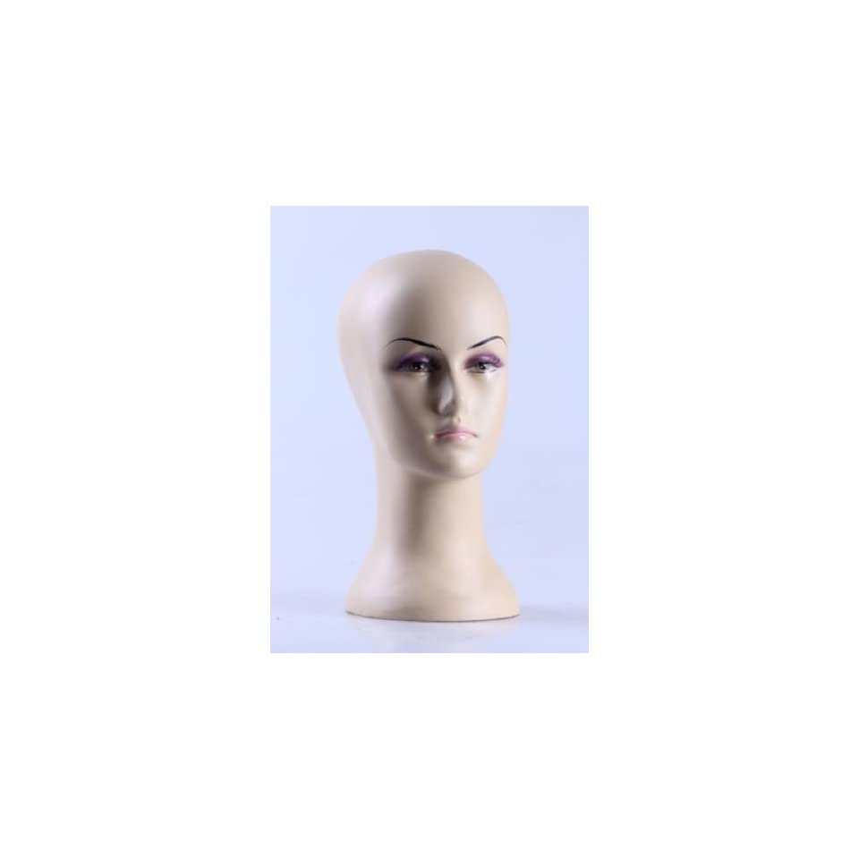 New Female Mannequin Head Display Bust For Jewelry, Wigs and Hats H64