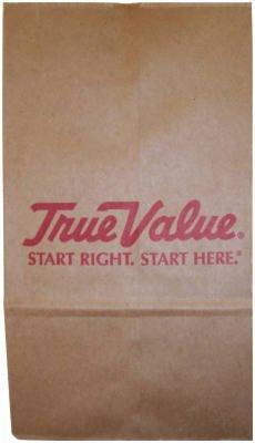 AMPAC TV03-HNK 3lb True Value Paper Bag (Pack of  500)