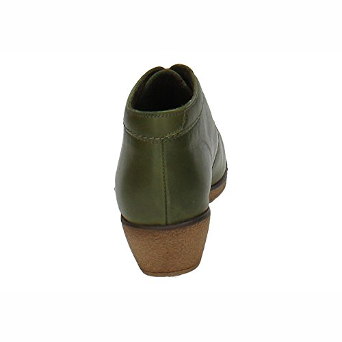 MADE IN SPAIN ,  Damen Kurzschaft Stiefel Grün