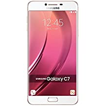 "Samsung Galaxy C7 C7000 32GB 5.7"" GSM Unlocked Cellphone (Pink) - International Version No Warranty"