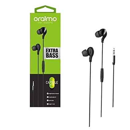 d39ef7e1a9a ORAIMO OEP-E22 Extra Bass Capsule Headphones: Amazon.in: Electronics