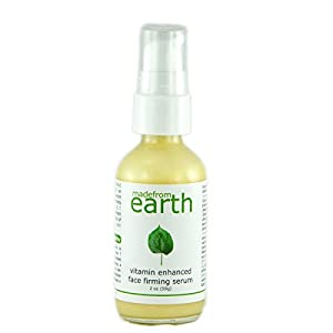 Vitamin Enhanced Face Firming Serum with organic nutrients of CoQ10, DMAE, and Vitamins A, B, C and E. by Made From Earth
