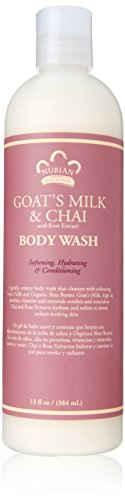 - Nubian Heritage Body Wash Goat's Milk And Chai - 13 fl oz