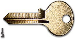 Hl-1 Key Blanks - 50/Bx (One Blank Key)