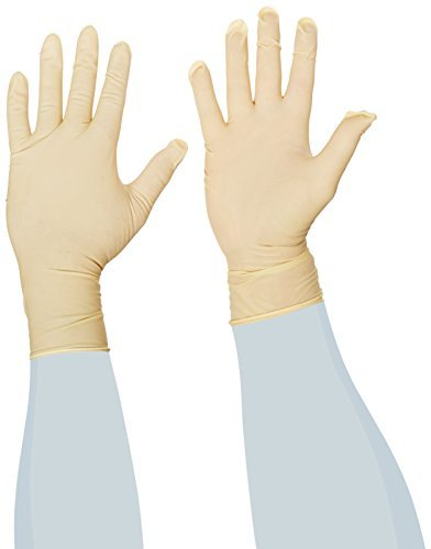 Microflex CE4-879 Hand Specific Latex Glove Sterile Powder Free Silicone Free Disposable 12 Length 5.9 mils Thick [並行輸入品] B075MY9ZGL