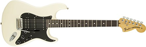 Price comparison product image Fender American Special Stratocaster HSS Olympic Guitar,  White