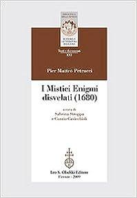 Book I mistici enigmi disvelati (1680)