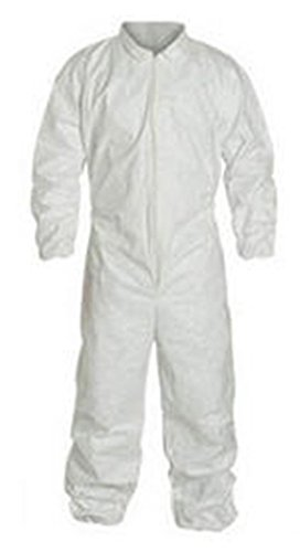 DuPont Tyvek Convertors Micro-Clean Overalls Size 3 XL - Case of 30
