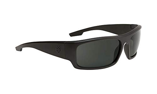 Piper Matte Black - Gray Polarized (Spy Wayfarer)