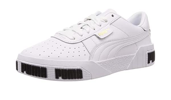 PUMA Cali Bold Womens White Trainers UK 3 EU 35.5: Amazon