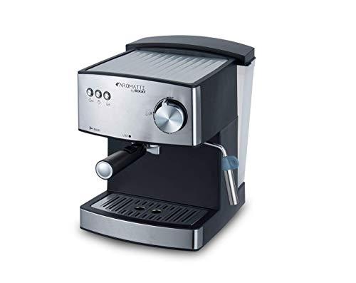 SOGO CAFETERA Combi SS-5665 Aromatti, 850W, 15/20 Bar, para Café Molido y Cápsulas E.S.E. Mono dosis, Vaporizador…