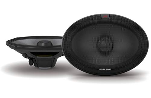 (Alpine R-S69.2 R-Series 6x9-inch Coaxial 2-Way Speakers (Pair))