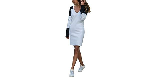 Amazon.com: AIMTOPPY Vestido de fiesta para mujer, casual ...