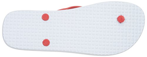 DC Männer Spray Graffik M 3 Point Sandal, EUR: 47, White/Black/Athletic Red